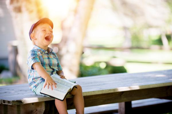 Geluk = plezier in het leven
