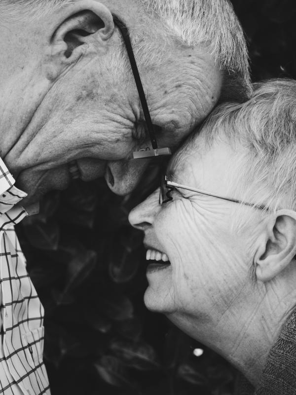 Geluk = Samen oud worden