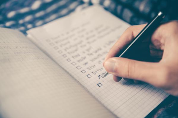 Tijd & Energie - doelen en plannen opschrijven en bijhouden