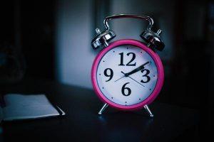 Slapen - en op tijd weer op
