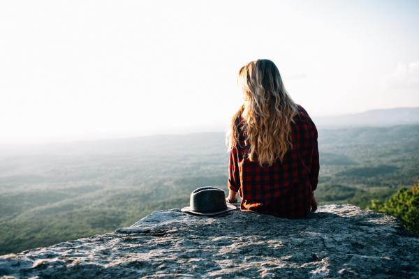 Denken = mediteren in de natuur