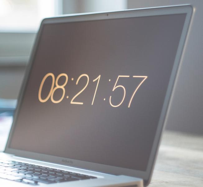 Uitstel gedrag - let op de tijd
