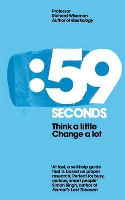 Boekbespreking: Richard Wiseman - 59 seconds