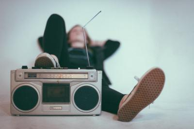Muziek is overal! Ontspannen!
