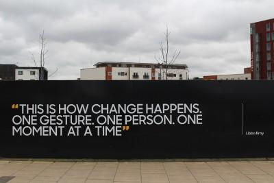 Change = Personal choice - David Kiriakidis - Unsplash