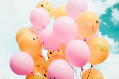 Ballon - een teken van gelukkig zijn?